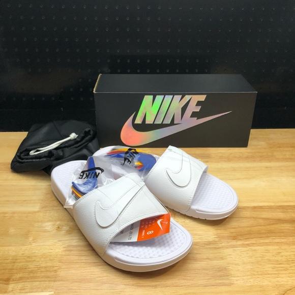 1e30eb70baf Nike Benassi JDI LTD Limited Slide Sandal Sz 8